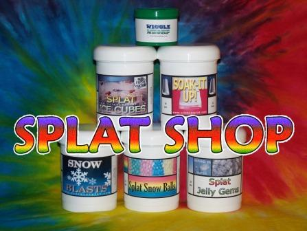 Click to visit the Splat Shop.